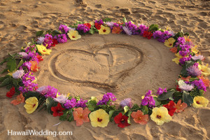 maui wedding packages includes flowers