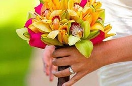 Tropical with Vibrant Color Mix (Seasonal Flowers)