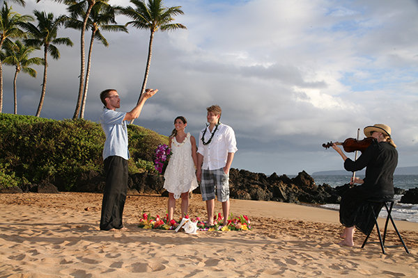 maui wedding ceremony photo