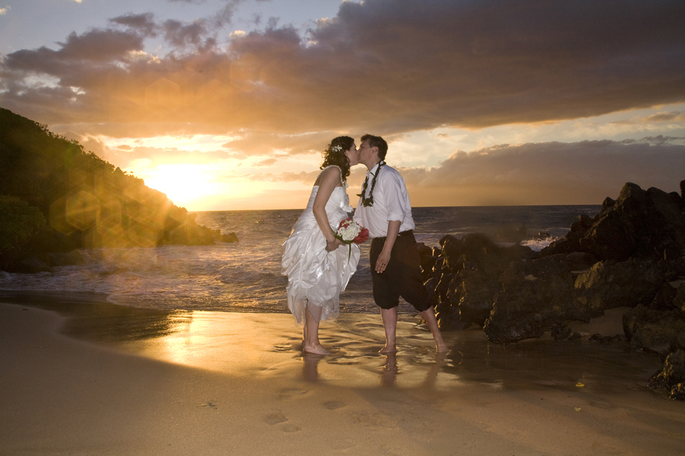 Wailea Beach Hawaii Wedding Maui