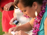 bridal hair and make up on Maui