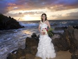 Grand Wailea wedding bride
