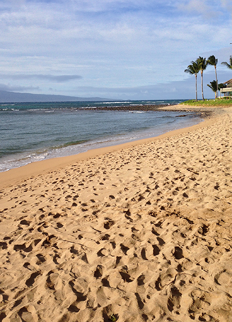 Kaanapali maui beach wedding location