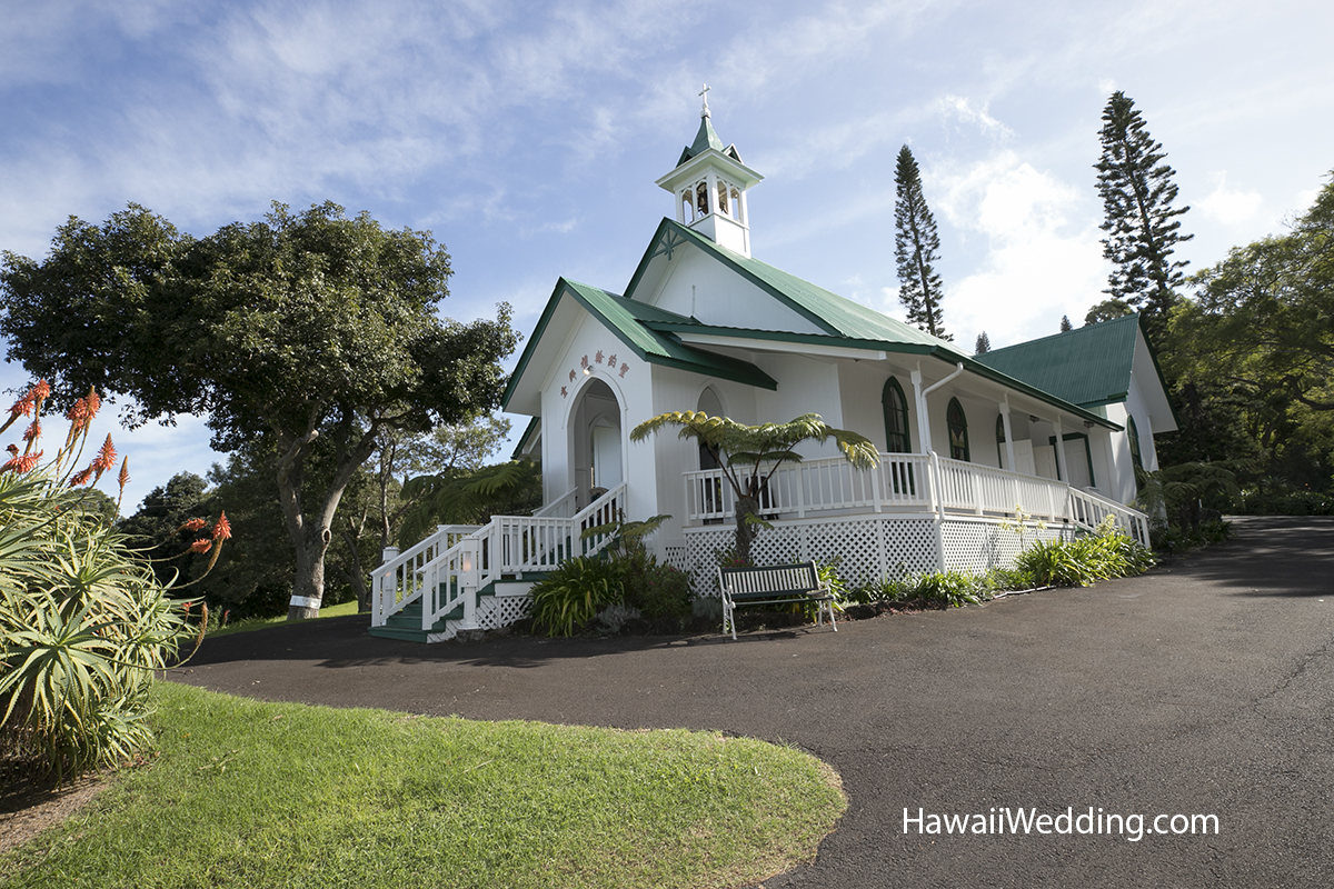 Maui church for weddings