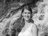 maui wedding at waterfall