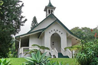 beautiful quaint country maui church for weddings