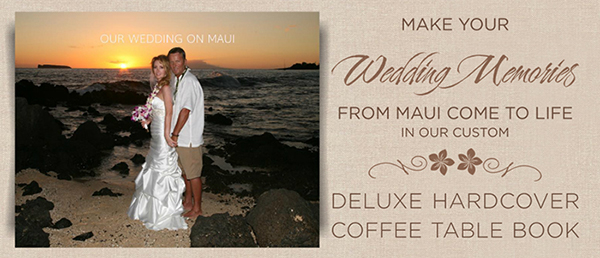 Maui Wedding Photo Albums