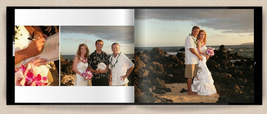 page 8 of hawaii wedding book