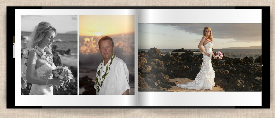 wedding book on Maui page 9