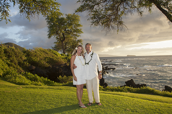 grass area for wedding in south Maui