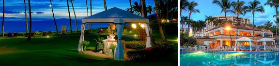 private dinner on the beach on Maui