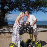 Scootering their way into marriage