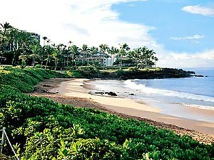wailea marriott beach weddings at Ulua beach