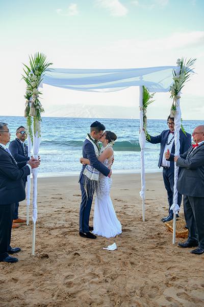 maui wedding arch