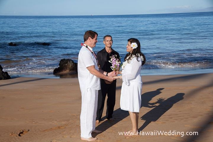 Short and Simple Maui Wedding Civil Ceremony